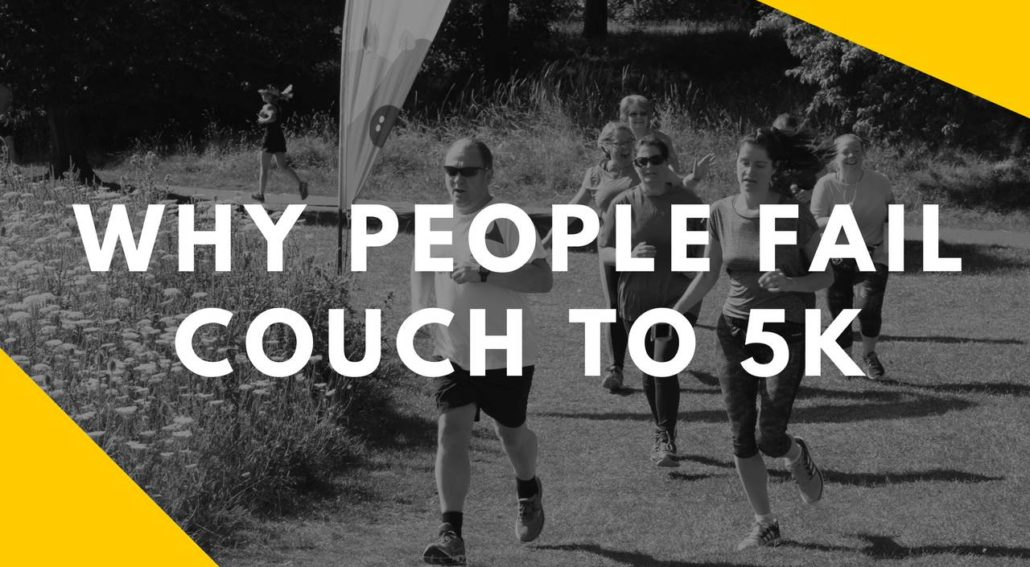Why People Fail Couch to 5k