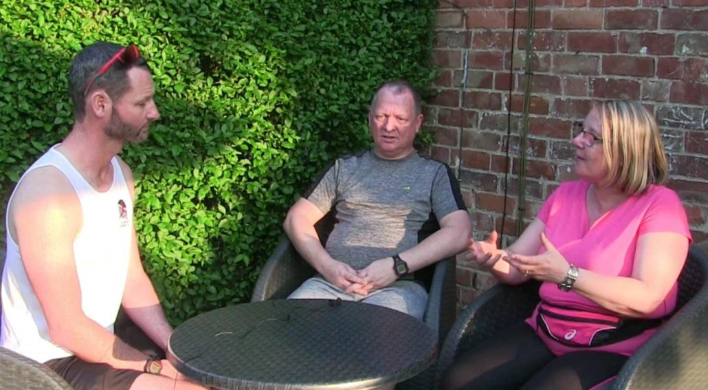Couch to 5k Week 4 Wendy and Graeme Interview