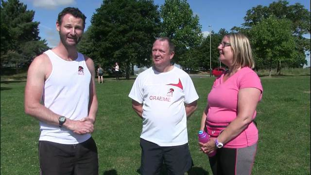Interview with Couch to 5k Runners right after Pittville Park Run